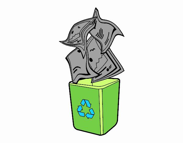 reciclatge di carta