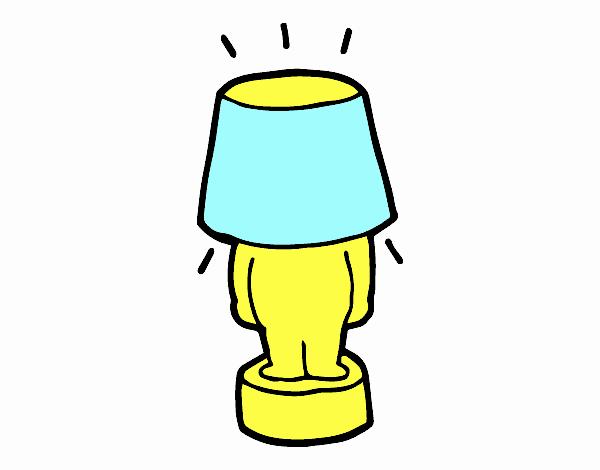 Lampada divertente