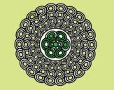 Mandala intrecciato