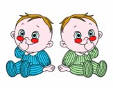 Bambini gemelli
