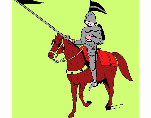 Cavallerizzo a cavallo