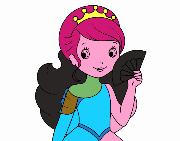 Principessa e ventaglio