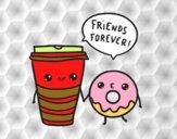Caffè e ciambella