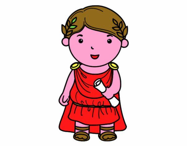 Giulio Cesare di bambino