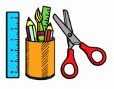 Il materiale scolastico