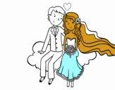 Sposi in una nuvola