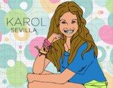 Karol Sevilla di Soy Luna