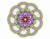 Mandala petali