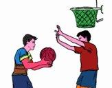 Giocatore in difesa