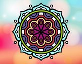Mandala a meditare