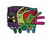 Autobus conigli