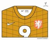 Maglia dei mondiali di calcio 2014 dell'Olanda
