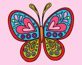 Mandala farfalla