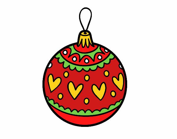 Disegno Palline Di Natale Migliori Pagine Da Colorare