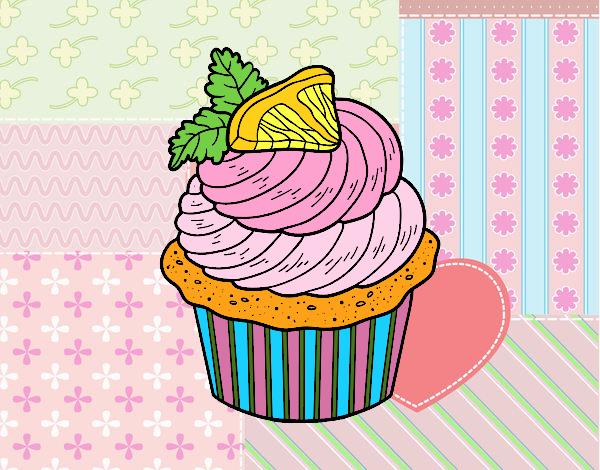 Limoni Disegno: Disegno Cupcake Limone Colorato Da Utente Non Registrato