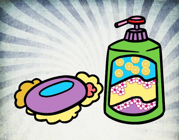 Disegno saponi da bagno colorato da utente non registrato for Disegno bagno online