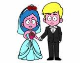 La sposa e lo sposo.
