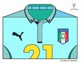 Maglia dei mondiali di calcio 2014 dell'Italia