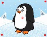 Pinguino antartico