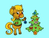 Pony natalizia