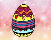 Uovo di Pasqua decorazione