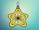 Decorazione di Natale stella