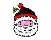 Babbo Natale faccia