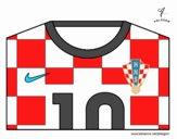 Maglia dei mondiali di calcio 2014 della Croazia