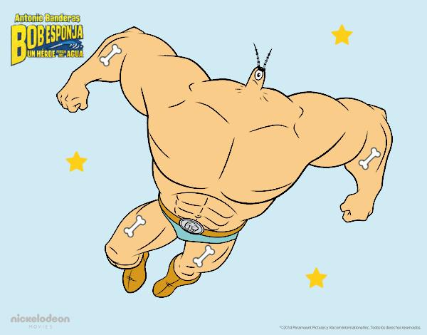 SpongeBob - Plankto-Man per l'attacco