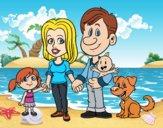 Una famiglia unita