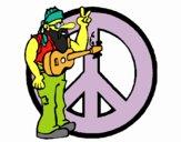 Musicista hippy