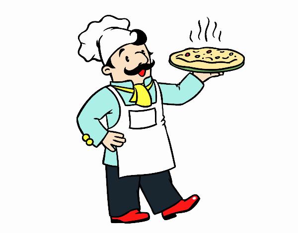 Disegno Cuoco Italiano Colorato Da Utente Non Registrato Il 26 Di