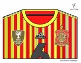 Maglia dei mondiali di calcio 2014 della Spagna