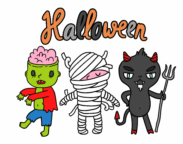 Disegno Mostri Per Halloween Colorato Da Utente Non Registrato Il 23