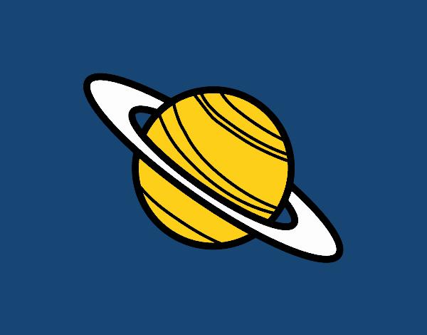 Disegno Pianeta Saturno Colorato Da Utente Non Registrato Il 28 Di