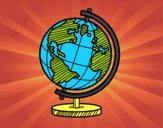 Un globo del pianeta Terra