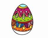 Uovo di Pasqua con i diamanti