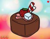 Disegno Cioccolato di frutta pitturato su OnlyZyra