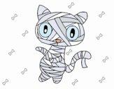 Mummia gatto scaraboechio