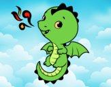 Un drago del bambino