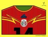 Maglia dei mondiali di calcio 2014 del Messico