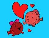 Pesce innamorato