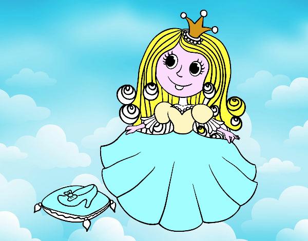 Principessa e scarpetta di vetro