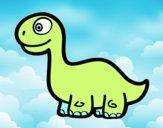 Bebè Diplodocus