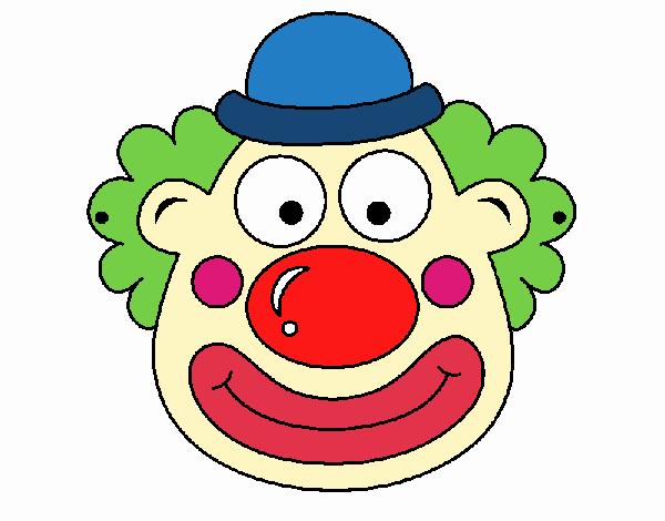 Disegno pagliaccio colorato da utente non registrato il 20 for Disegno pagliaccio colorato