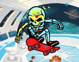 Scheletro skater