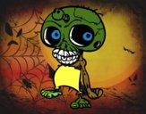 Teschio zombie