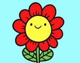 Un fiore sorridente