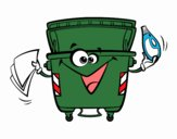 contenitori di rifiuti