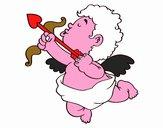 Cupido con la sua freccia